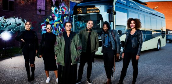 Silent Bus Sessions - Seinabo Sey / Volvo Bus / F&B