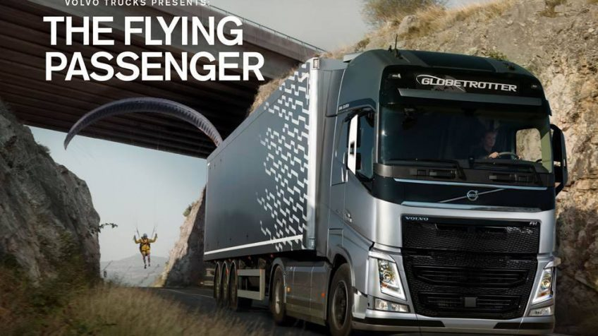 The Flying Passenger / Volvo Trucks / F&B